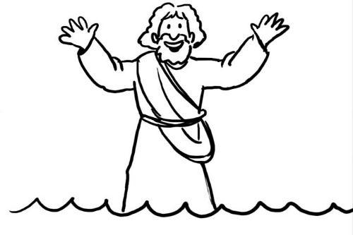 Biblemations-Jesus Walks on the Water (Matthew 14)