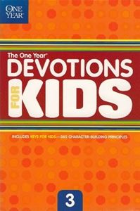 Picture of One Year Book of Devotions for Kids (Vol 3)