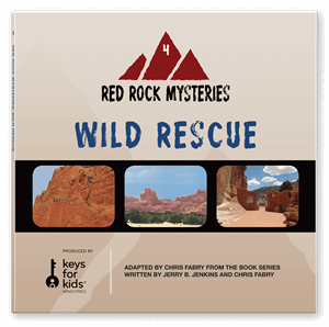 Picture of Red Rock Mysteries: Wild Rescue-Book 4 (CD)