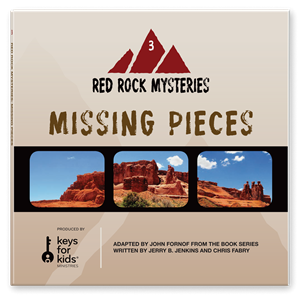Picture of Red Rock Mysteries: Missing Pieces-Book 3 (CD)