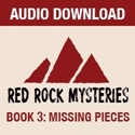 Picture of Red Rock Mysteries: Missing Pieces-Book 3 Complete Set (Audio Download)