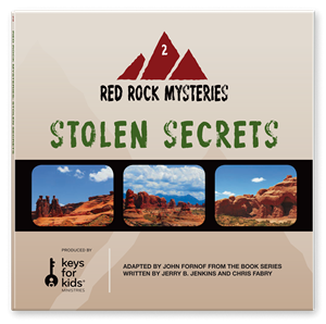 Picture of Red Rock Mysteries: Stolen Secrets-Book 2 (CD)