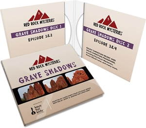 Picture of Red Rock Mysteries: Grave Shadows-Book 5 (CD)