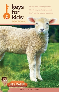 Picture of Keys for Kids Quarterly Devotionals (One Time) -  Apr/May/June '19