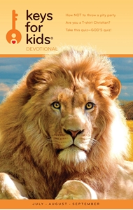 Picture of Keys for Kids Quarterly Devotionals - July/Aug/Sep '19 - Pack of 25