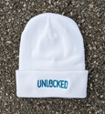 Picture of Unlocked Beanie - White