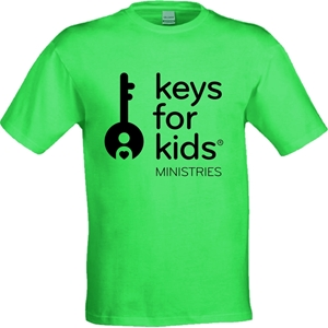 Picture of Keys for Kids T-Shirt -Adult